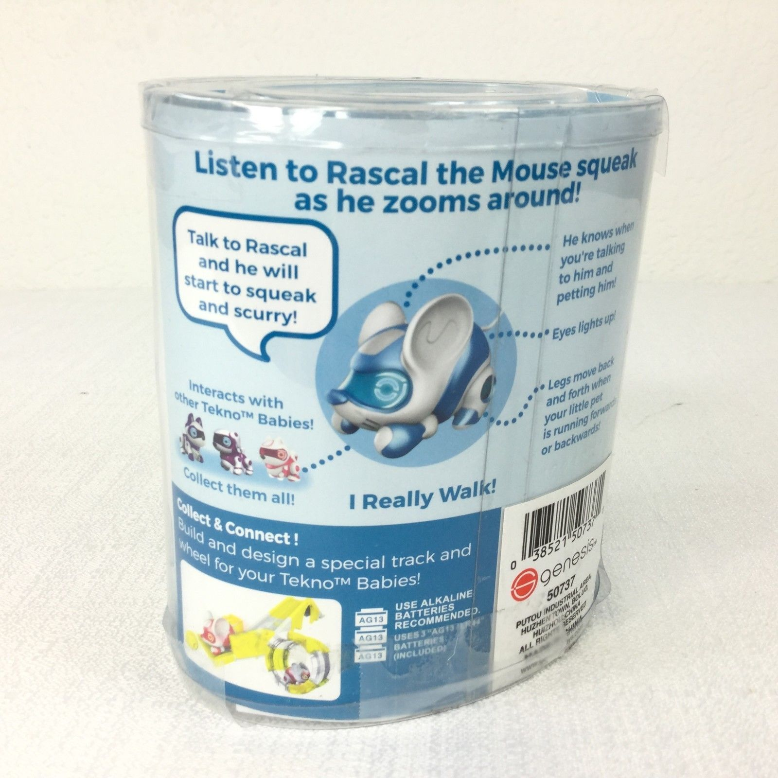 Tekno Babies! Rascal The Mouse Smart/Artificial Intelligence