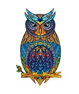"""Unidragon Wooden Jigsaw Puzzles """"Charming Owl"""" Wooden Puzzles for Adults - KS... - $89.99"""