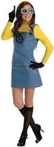 Rubies Despicable Me 2 Weiblich Minion Erwachsene Cartoon Film Cosplay Kostüm - $31.39
