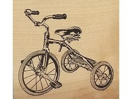 JudiKins Tricycle Rubber Stamp #3365F
