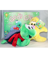 Christian the Turtle & Jacob the Starfish Toy PLUS God's Gift Hardcover ... - $37.68