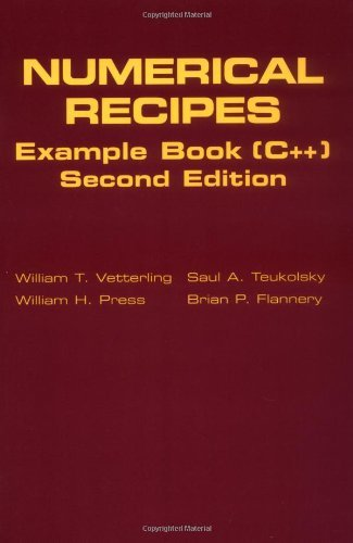 Numerical Recipes Example Book (C++): The Art of Scientific Computing Vetterling