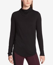 Calvin Klein Performance Mock-Neck Top, Size S, MSRP $59 - $31.08