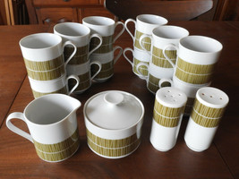 Mikasa Accent Contour 5583 China 16pc. Set Salt Pepper Cream Sugar 12-Te... - $59.83