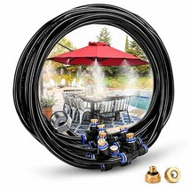 HOMENOTE Misting Cooling System 26.2FT 8M Misting Line + 9 Brass Mist No... - £19.88 GBP