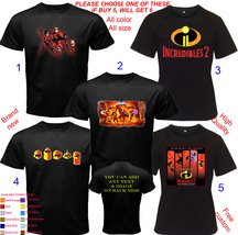 Incredibles 2 Mix Shirt All Size Adult S-5XL Youth Toddler - $20.00+