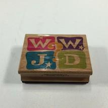 Stampcraft WWJD Theme Rubber Stamp 440H13 - $8.99