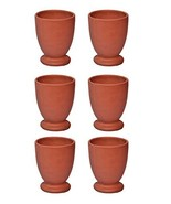 Clay Glass kullad / khullad (Pack of 6) Special Offer tea coffee cup Ind... - $35.64