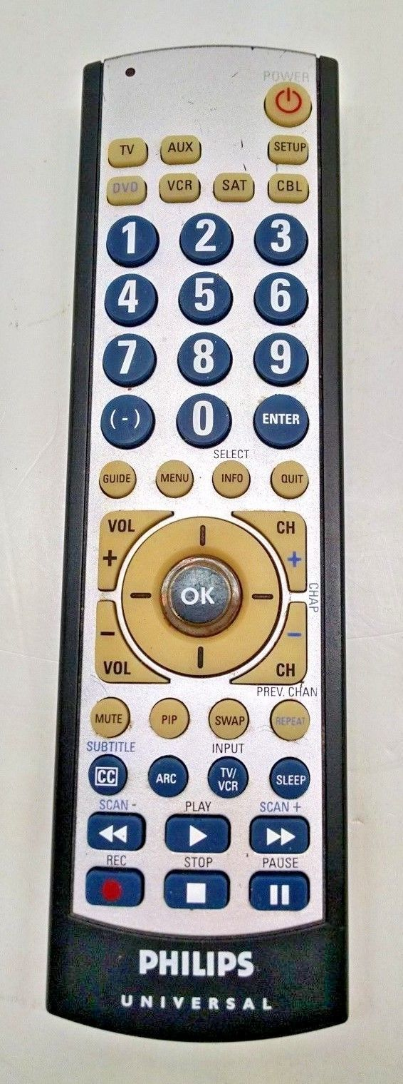 Instructions For Philips Universal Remote Cl035a ...