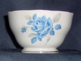"""VINTAGE Royal Standard """"MARGARET""""  BLUE ROSE Bone China OPEN SUGAR BOWL ... - $12.88"""