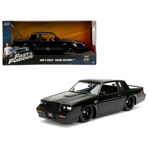 Doms Buick Grand National Black Fast & Furious Movie 1/24 Diecast Model ... - $32.30