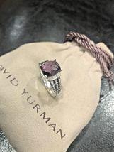 David Yurman Ring Petite Wheaton Amethyst And Diamond Size - 6 - $299.99