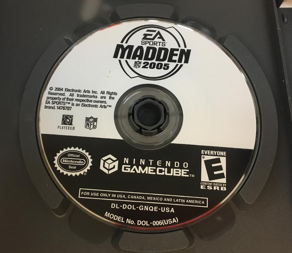 Nintendo Game Madden 2005