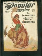 Popular Magazine PULP-5/20/25-SUNGAZERS-CACTUS Cover Vg - $94.58