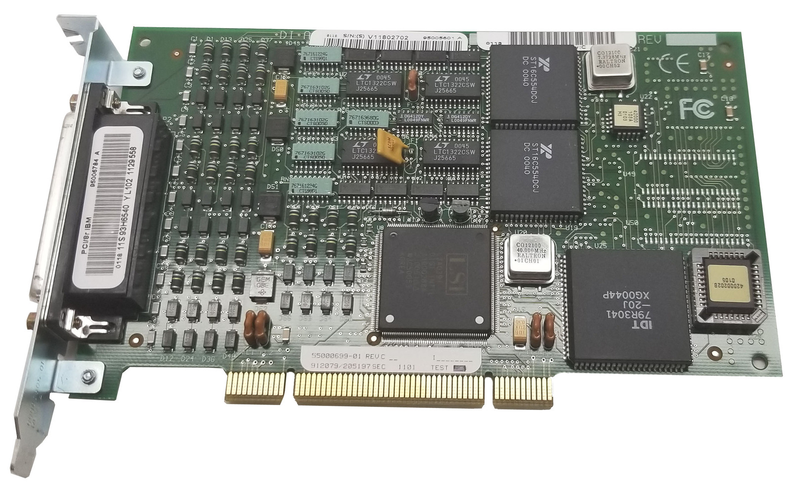 Digi 50000503-01 8-Port PCI Async Adapter Bin:7