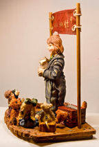 Boyds Bears: The Amazing Bailey... Magic Show at 4 - First Edition/3180 - #3518 image 4