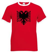 Albania Ringer T Shirt - $12.90