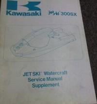 1987 Kawasaki Jet Ski 300SX 300 SX Motomarine Service Shop Réparation Ma... - $69.20