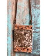 American Darling Natural Roan Cowhide Crossbody Bag - $69.99
