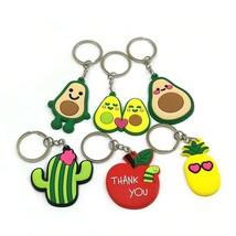 Cartoon Pendant Keychain Action Figure Ring Holder Kid Gift Trinkets Jew... - $0.01