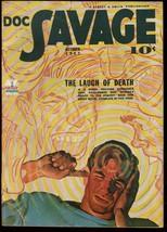 Doc Savage 1942 OCT-PULP Laugh Of Death Street & Smith Vf - $236.44
