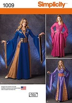 Simplicity Creative Patterns US1009R5 Misses Fantasy Costumes, Size R5 (... - $13.23