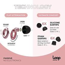 Loop Earplugs for Noise Reduction 2 Ear Plugs High Fidelity Ear Protection for C image 5