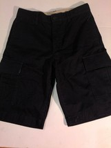 Gap Kids Uniform Cargo Shorts sz 18 Slim Navy Blue NWot - $11.40