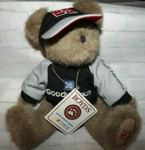 "Boyds Bears GM Goodwrench #29 Nascar Kevin Harvick 10"" T Taupe Plush Bear  - $25.13"