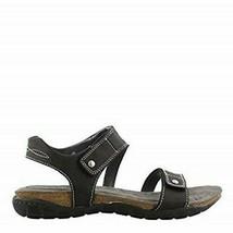 Khombu Women's Ava Sport Comfort Footbed Outdoor Black Sandals image 2