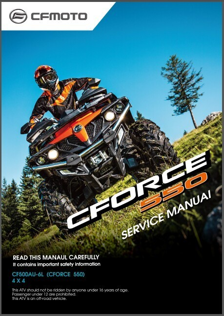 CFMoto CForce 550 ( CF500AU-6L ) 4X4 ATV and 50 similar items
