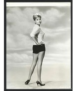 1961 SUSAN KELLY Leggy Rear View Sweater Girl Vintage Original Photo - $17.59