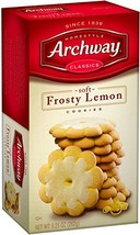 Archway Cookies, Frosty Lemon, 9.25 Ounce Pack of 9 - $32.19