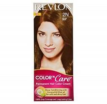 Revlon Color n Care Permanent Color Cream, Shade Brown Black 2N For Men ... - $12.93
