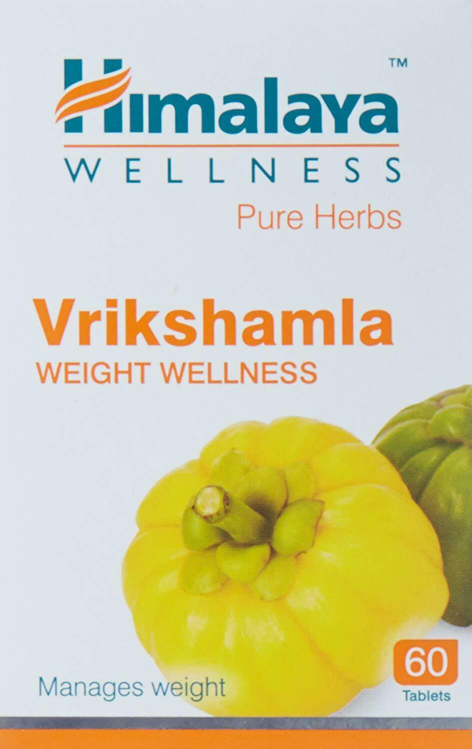 Himalaya Wellness Pure Herbs Vrikshamla Weight Wellness 60 Tablets FREE SHIPPING - $10.35