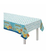 Pokemon Classic Birthday Party TableCover Tablecloth 54  x 96 All over P... - $8.70
