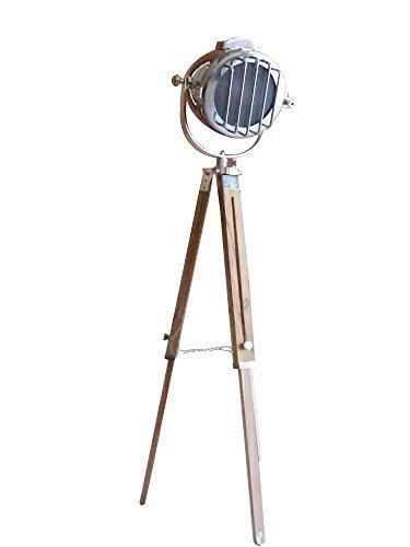 "Hollywood Vintage Marine Search Light 45"" Floor Lamp By NauticalMart - $137.61"