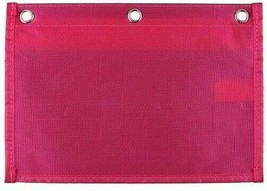Mead Five Star Pink Dual Zipper 3 Ring Binder Pencil Pouch School Supplies NEW image 2