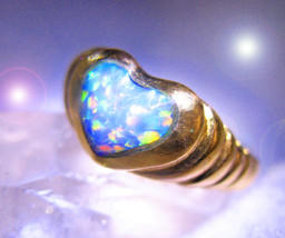 CASSIA4 HAUNTED RING HEART OF MAGICK OFFERS ONLY 2000 MAGICK 7 SCHOLARS CASSIA4 - $200.00