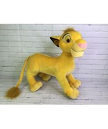 Disney Hasbro The Lion King Simba Jumbo Large Plush Stuffed Animal Doll ... - $21.03