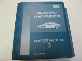 1993 Subaru Impreza Electrical Wiring Troubleshooting Service Manual VOL... - $64.34