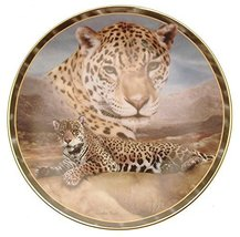 Bradford Exchange Charles Frace Soul of The Wild First Light Leopard Plate HJ256 - $38.21