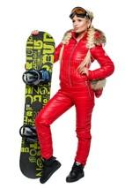 Womens Winter Jumpsuit Tracksuit Romper Overall Ski Sport Warm Playsuit Fur - $199.00