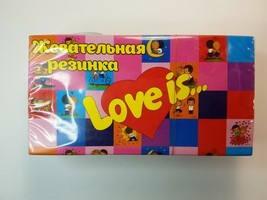 LOVE IS gum - FRESH Mix chewing gum, assorted, 25pc.production - TURKEY - $18.70