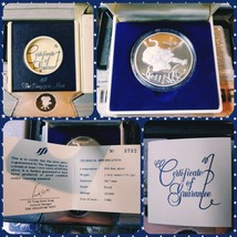 Singapore Mint Tiger Silver Proof Coin Round Case COA #3732/10K - $120.62