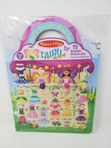 Melissa & Doug Reusable Puffy Sticker Play Set FAIRY 000772094146 - $6.99