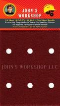 HITACHI SV 12SG - 1/4 Sheet - 60 Grit - Pre-Punched - 5 Sandpaper Bundle - $7.49