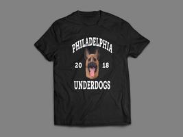 Philadelphia Eagles Foles Underdogs Shepard Oldskool Custom Super Bowl T-SHIRT - $18.80+