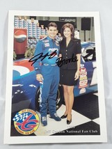 Jeff Gordan & Brooke Sealey 1999 National Fan Club Picture Print - $9.00
