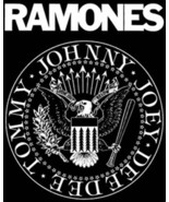 The Ramones Rock Group Presidential Seal Logo T-Shirt Size SMALL, NEW UN... - $14.50